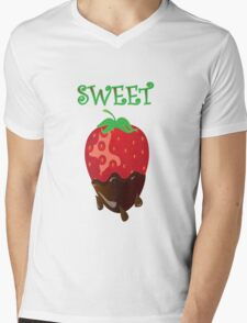 strawberry tshirt Mens V-Neck T-Shirt