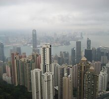 Hong Kong Victoria Peak by dangerouswings