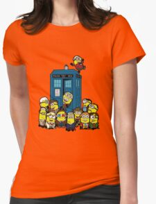 Minion Who Womens Fitted T-Shirt