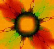 Colorful Chains Emblazed  by Beatriz  Cruz