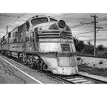 Burlington Nebraska Zephyr EMD E5  Photographic Print