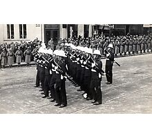 Roayal Marines - Belgrade 1934 Photographic Print