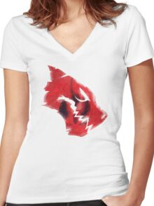 Blake & The White Fang Women's Fitted V-Neck T-Shirt