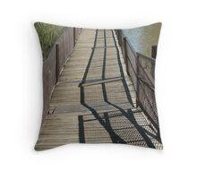 Long Foot Bridge Throw Pillow