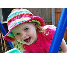 Nadya's New Hat Photographic Print