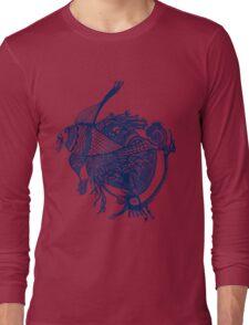 Indigo Fish Long Sleeve T-Shirt