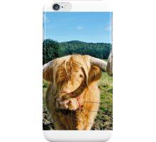 Scottish Highland cow iPhone Case/Skin