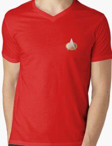TNG Uniform Badge Mens V-Neck T-Shirt