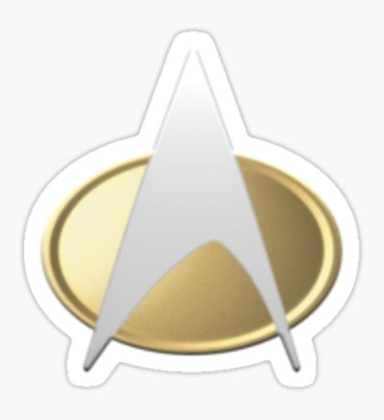 TNG Uniform Badge Sticker
