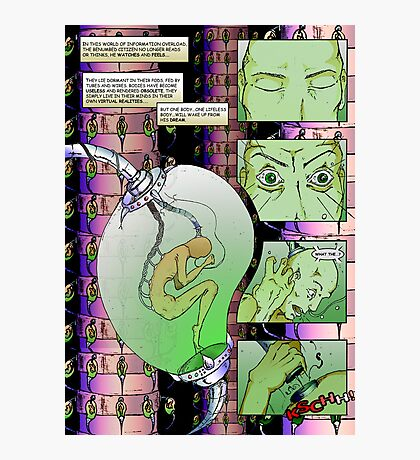Comic Photographic Print