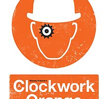 Clockwork Orange - Movie Poster by 547Design