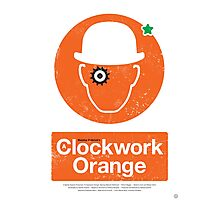 Clockwork Orange - Movie Poster Photographic Print