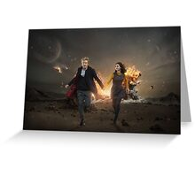 Doctor Who 2015 Greeting Card