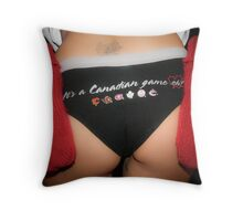Hockey Fever Throw Pillow