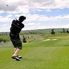 Golf Swing L by Al Bourassa
