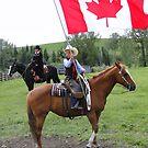 Bar U Ranch - Canada Day 2010 by Al Bourassa
