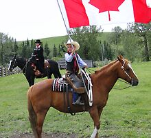 Bar U Ranch - Canada Day 2010 by Al Bourassa