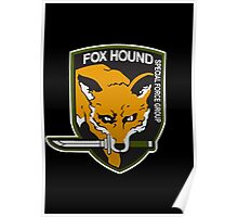 Fox Hound Special Force Group - HD Poster