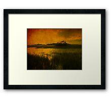 Island in the sun Framed Print