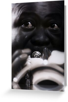Louis Armstrong by Artist Soap
