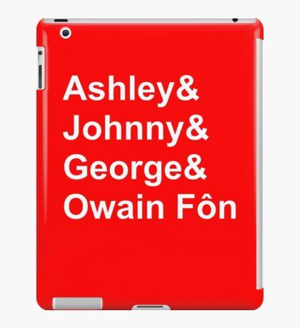 Wales' Williams iPad Case/Skin