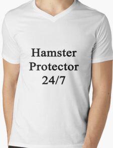Hamster Protector 24/7  Mens V-Neck T-Shirt