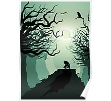 Crows and the Werewolf Poster