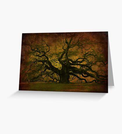 The Angel Oak in Charleston SC Greeting Card