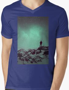 Lost the Moon While Counting Stars II Mens V-Neck T-Shirt