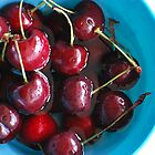a cherry bowl of life by Raina DeVaney