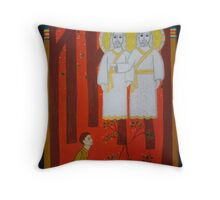 First Vision Throw Pillow
