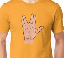 Live Long and Prosper Hand Sign Unisex T-Shirt