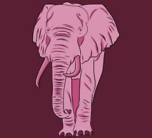 I See A Pink Elephant Womens Fitted T-Shirt