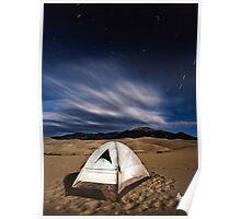Desert Camp Poster