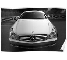 Merc Benz SLK 550 Poster