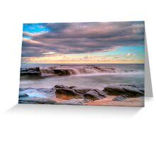 Wonderful Garrie beach Greeting Card