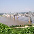 Mississippi River Bridge - Natchez, MS by Dan McKenzie