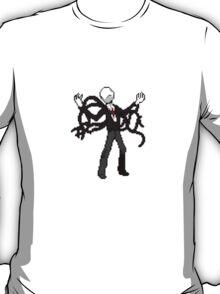 8bit slenderman slender man creepypasta geek funny nerd T-Shirt