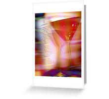 cosmopolitan number 8 Greeting Card