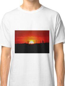Manitoba Sunset Classic T-Shirt