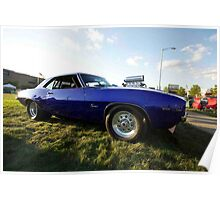 Burn Out Camero Poster