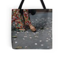 flower collector  Tote Bag