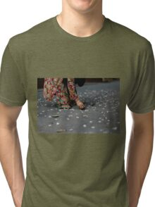flower collector  Tri-blend T-Shirt