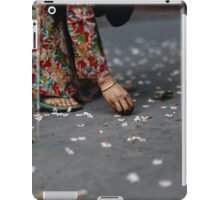 flower collector  iPad Case/Skin