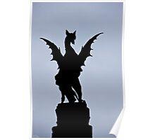Temple Bar Dragon Poster