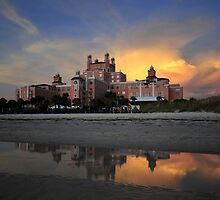 Don Cesar sunset by David Lee Thompson