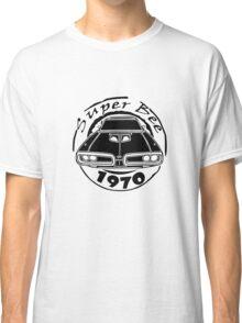 1970 dodge super bee graphic geek funny nerd Classic T-Shirt
