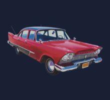 1958 Plymouth Savoy Classic Car Kids Tee