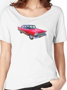 1958 Plymouth Savoy Classic Car Women's Relaxed Fit T-Shirt