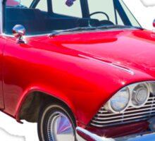 1958 Plymouth Savoy Classic Car Sticker